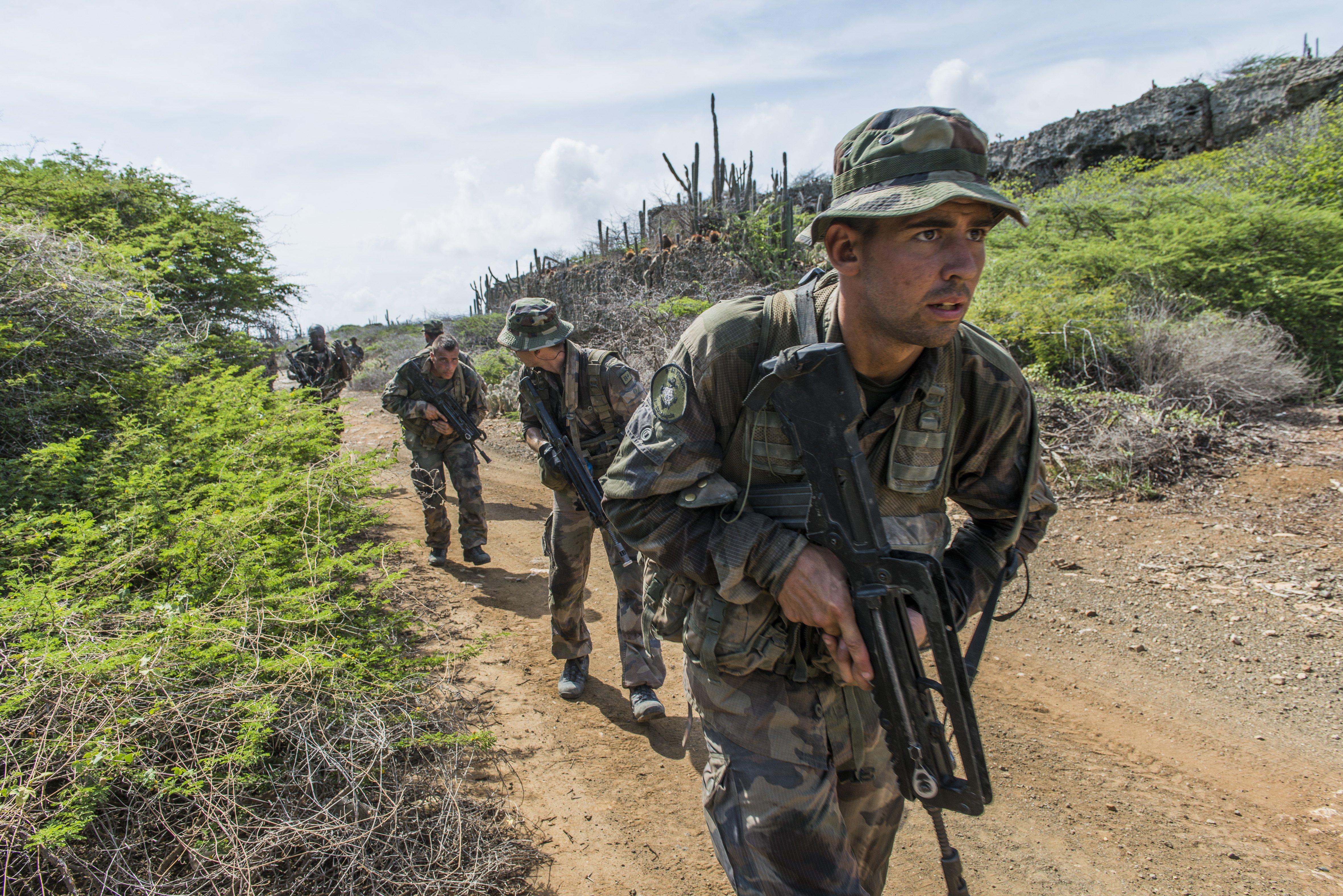 Entraînement opérationnel Tricolores 2014 conduit à Curaçao