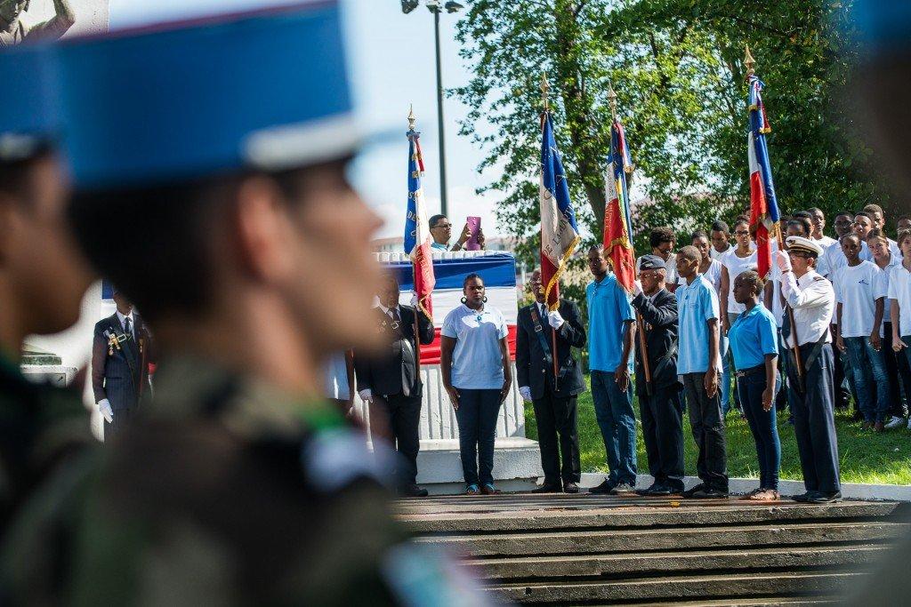 Cérémonie de commémoration du 11 novembre 2014 à Fort de Fra