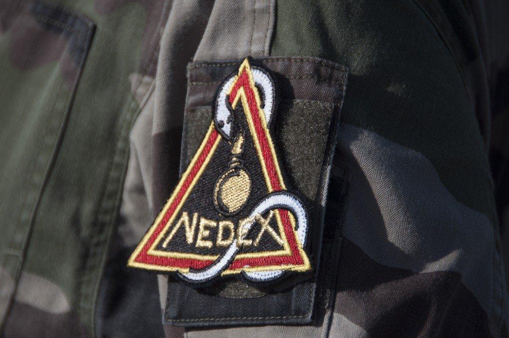 Hélitreuillage équipe NEDEX