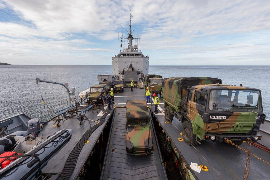 EU RICHTER, les forces armées intégrées à un exercice européen et interministériel de secours de grande ampleur dans 33ème RIMa 2017_mfdf_022_e_002_020