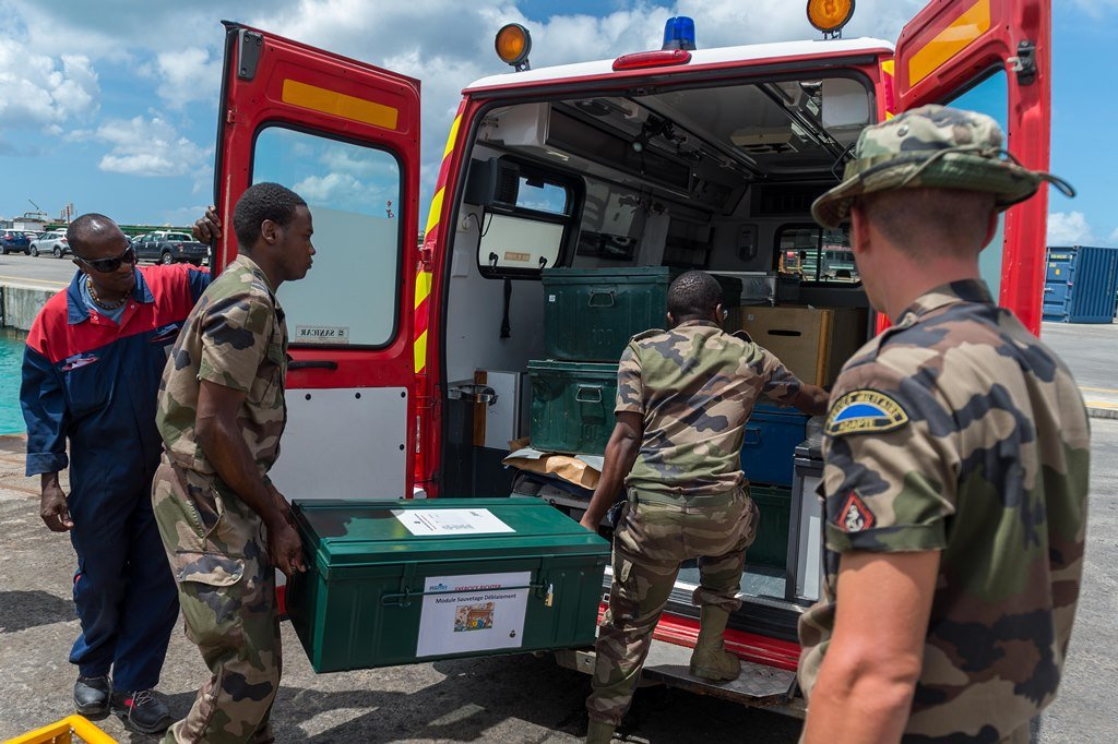 EU RICHTER: Coordination interministérielle, reconnaissance et soutien logistique opérationnel dans 33ème RIMa 2017_mfdf_022_e_003_018